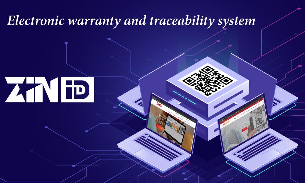 ZinID electronic warranty