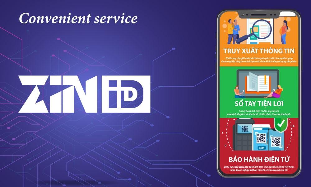ZinID incremental utility service
