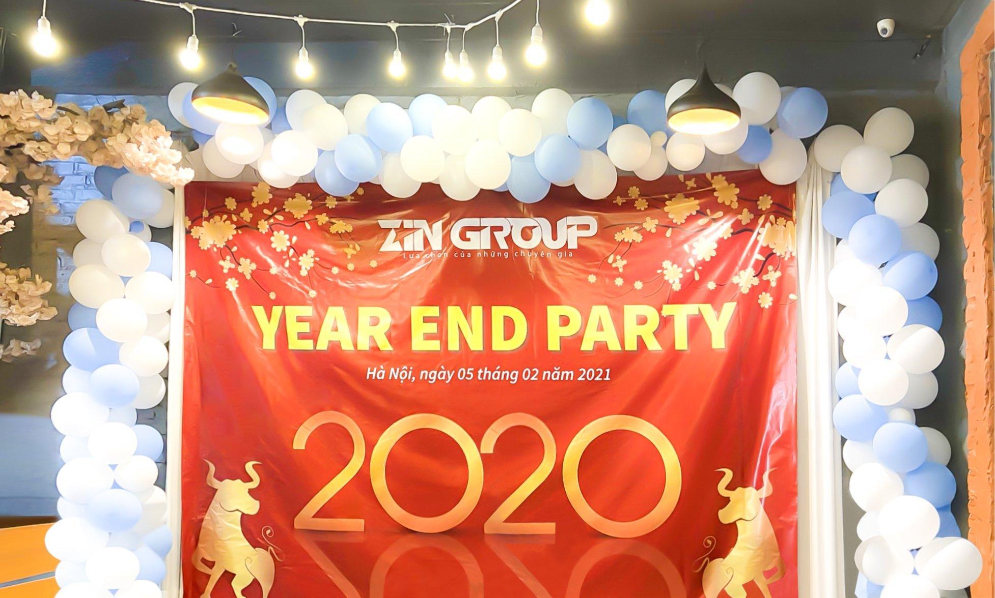 Year End Party 2020 Và Tầm Nhìn Lớn Mạnh Của ZinGroup Trong Năm 2021